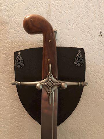 Beautiful Wood Handled Scimitar Sword