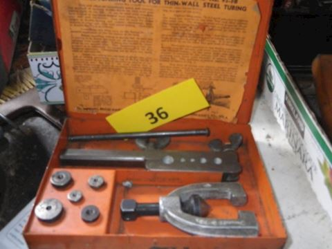 Lot #36 – Imperial #93-FB Double-Flaring Tool