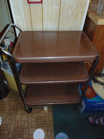 Vintage Electric Utility Cart