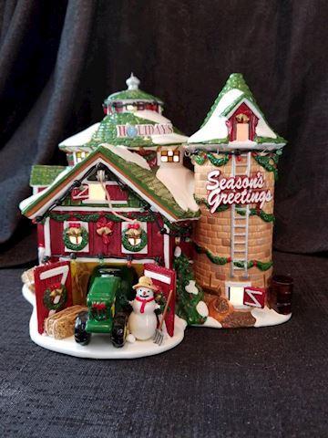 Department 56 Happy Holidays Barn
