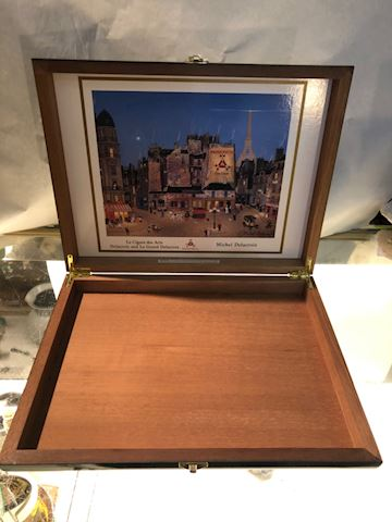Michael Delacroix Cigar Box