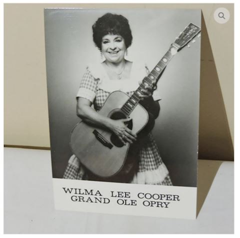 Wilma Lee Cooper Official Grand Ole Opry Photo