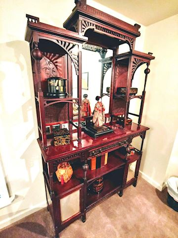 Antique Asian Display Etagere - RARE