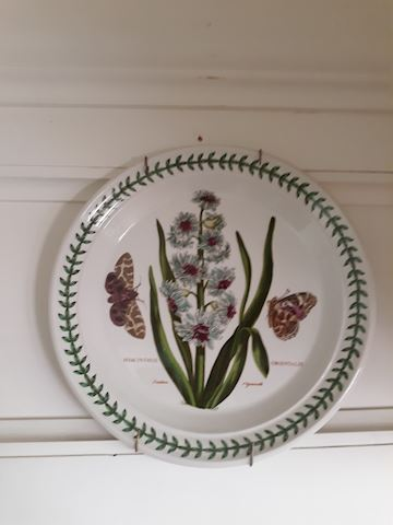 D - 183...6 Floral  Collector's Plates