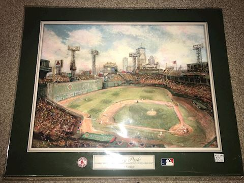 Thomas Kinkade Fenway Park 2007 world Champions