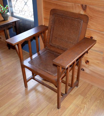 Mission / Arts & Crafts era Oak Arm Chair