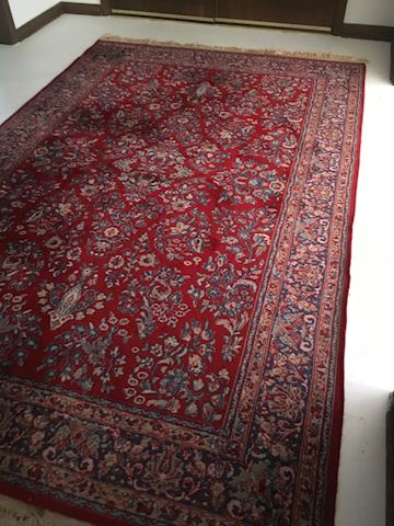 Sarouk  20'  x 11 & 1/2'  Karstan rug(PreSale )