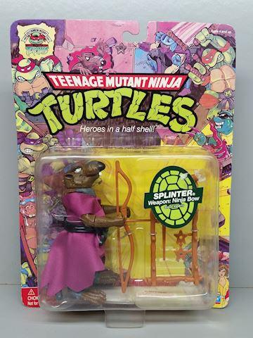 "ninja turtles action figure ""splinter"""