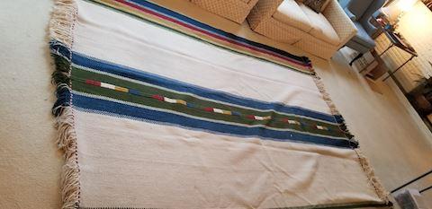 Large wool Israel made rug