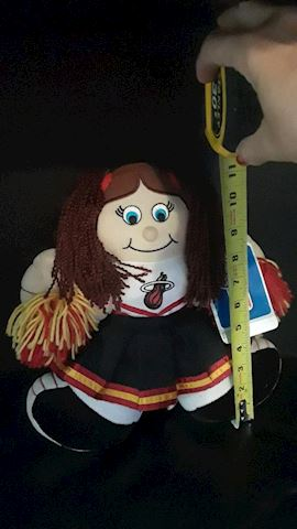 Miami Heat Cheerleader Doll