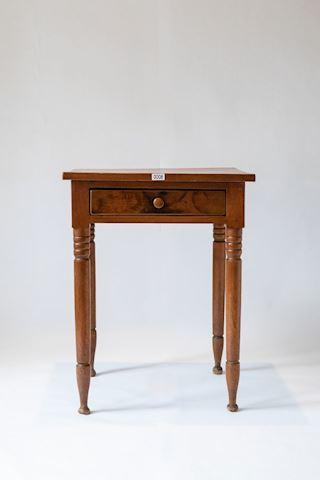 Lot 0008  18th Century Walnut Side Table