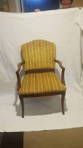 423059 Fabric Covered Arm Chair