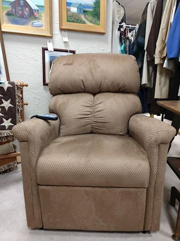 Brown Electric Recliner Chair