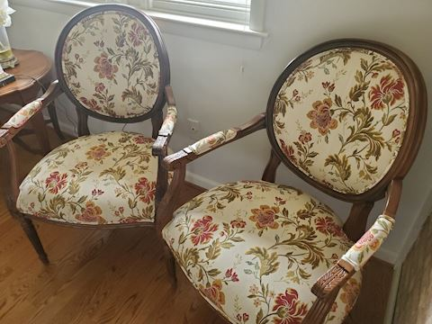Pair of side chairs, Ethan Allen