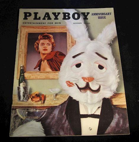 Playboy December 1954 Anniversary Issue