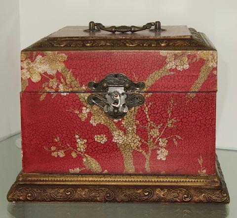 Oriental Storage Box.