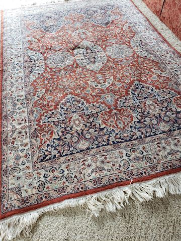 Hand-Knotted Oriental Rug