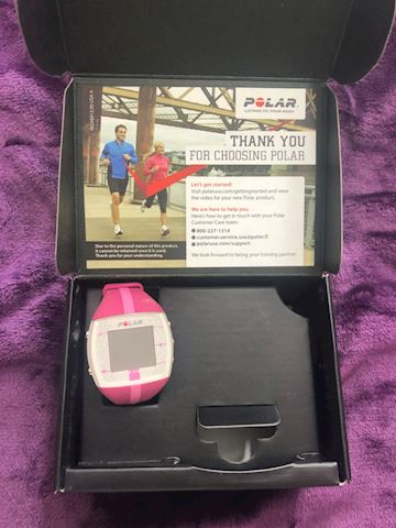 Polar ft4 heart monitor