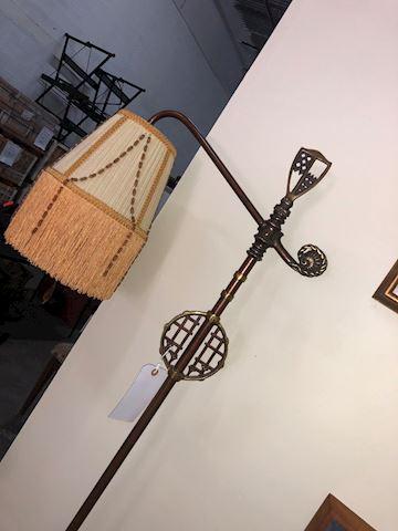 Morrocan Floor Lamp/Brass and steel   Very Heavy