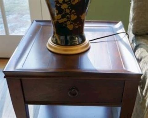 Pair of Crate & Barrel End Tables