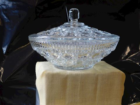 Vintage Crystal Candy Dish