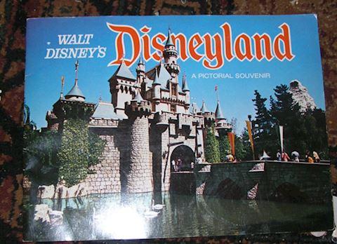 1970s Vintage, Disneyland Pictorial Souvenir