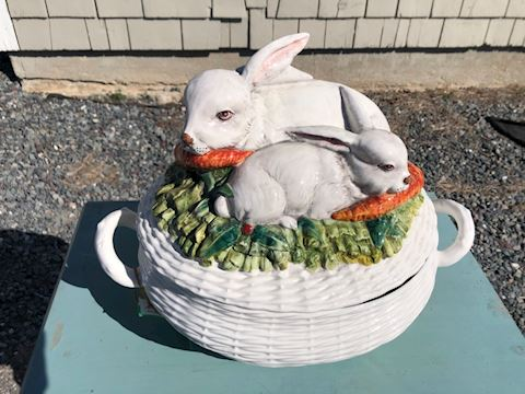 Large Rabbit Tureen