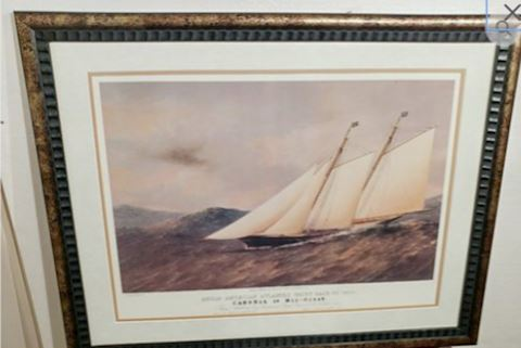 1870 Angelo American Yacht Race T.G. Dutton