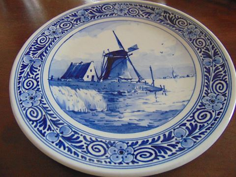 Royal Copenhagen Delft Plate