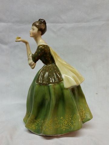 "Royal Dalton ""Fleur"" statue figurine"