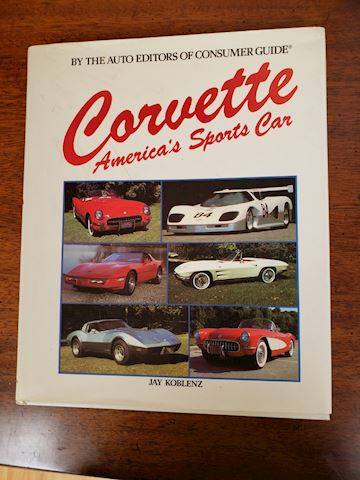 CORVETTE AMERICA'S SPORTS CAR JAY KOBLENZ