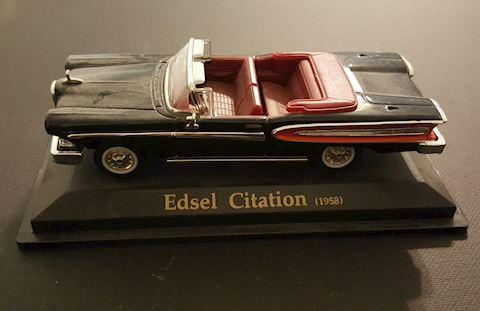 Vintage 1958 Edsel Citation Model Car