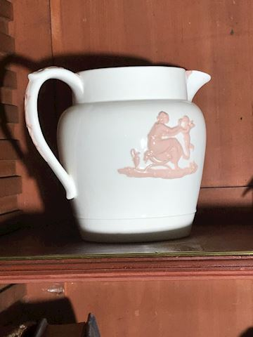 Liv.  549.  Wedgewood Embossed Pitcher