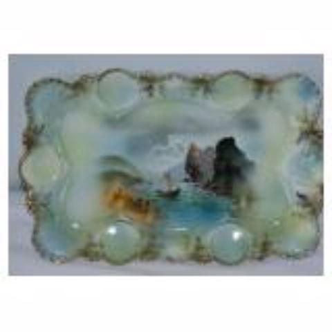 Antique Decorative Serving Platter.