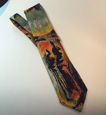 Salvador Dali Museum Silk Tie ~ Hallucinogenic