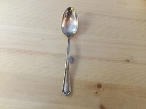 Sterling silver spoon Eb66