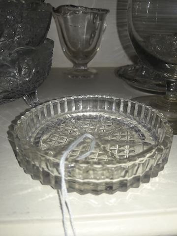1 crystal coaster /ashtray