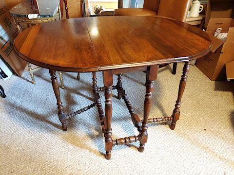 Table Mahogany Drop Leaf