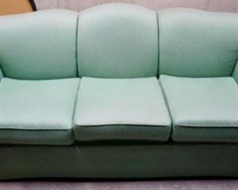Pastel Green Sofa
