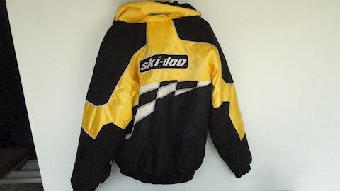 Yellow Ski-doo 3 in 1 jacket Lot #98