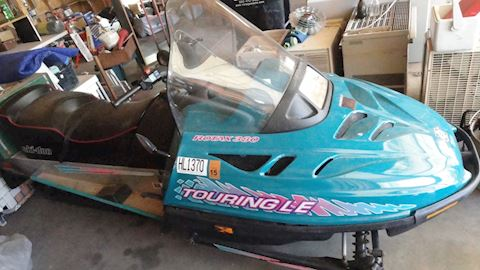 1995 Skidoo snowmobile Lot #2