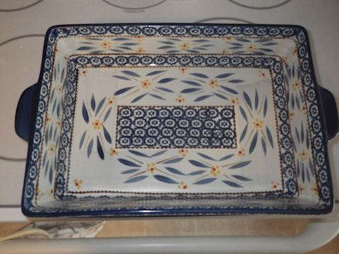 Temptations Serving Dish and Tray