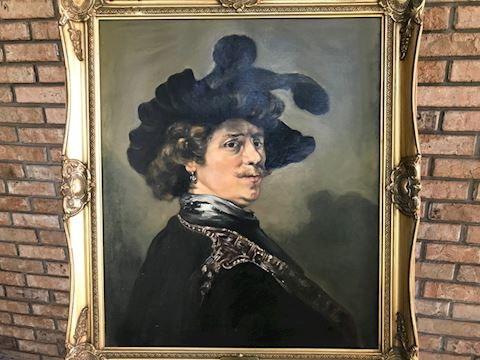 Rembrandt circa 1634 Reproduction by Lou Roussano