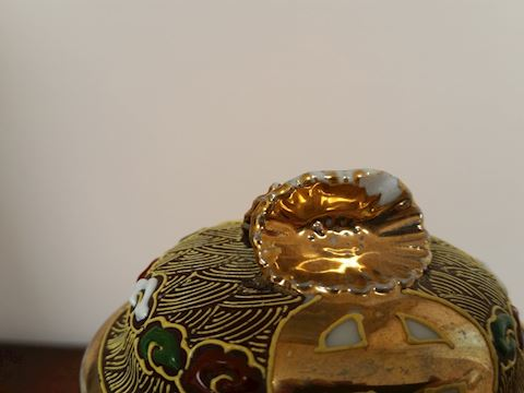 ANTIQUE RUSSIAN GOLD GILT TEAPOT