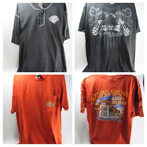 Harley Davidson Lot of 3 Men's T-Shirts - Size L