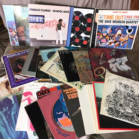 35 vintage Jazz Albums