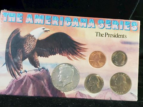 The American Series The Presidents coin collection