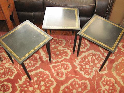 Artex Green Stackable Snack Tables