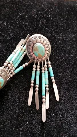 Sterling / turquoise earings