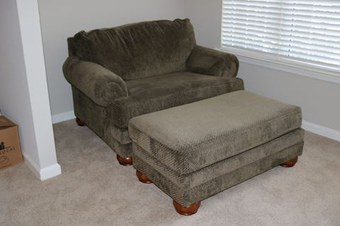 Ashley Furniture Chair & Ottoman